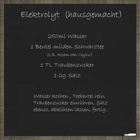 Elektrolyt-Futterblatt